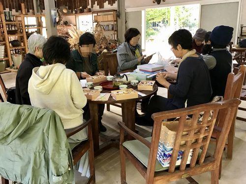 11,4植花夢ーお食事