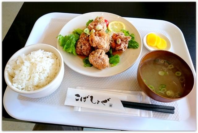 青森県 弘前市 1コインランチ 写真 グルメ から揚げ専門店 こばしょぐ弘前東店