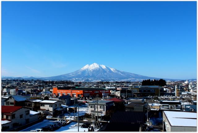 青森県 弘前市 岩木山 山の写真