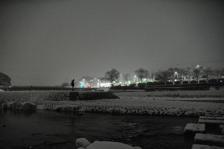 雪のデルタ