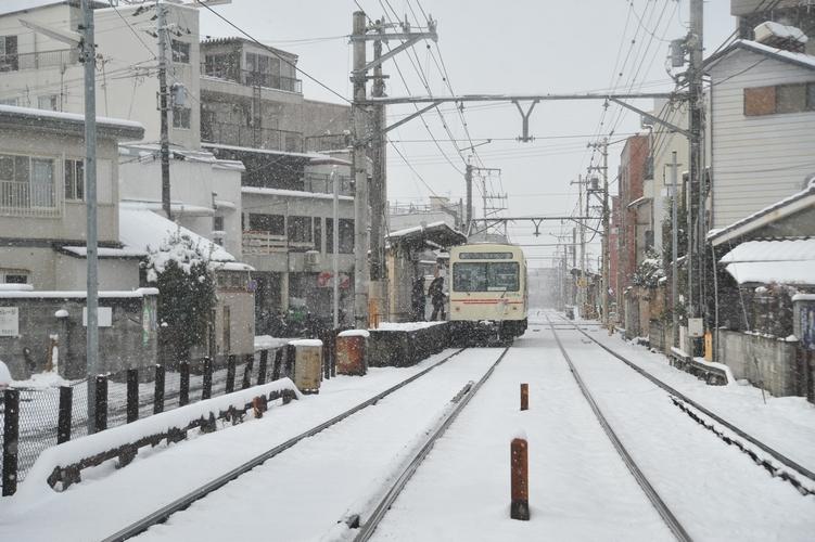 雪、元田中。