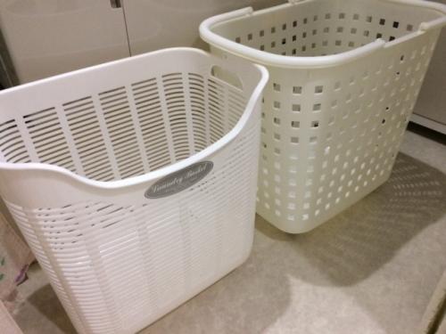 洗濯もの入れ