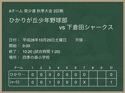 10/29 A vs ひかり
