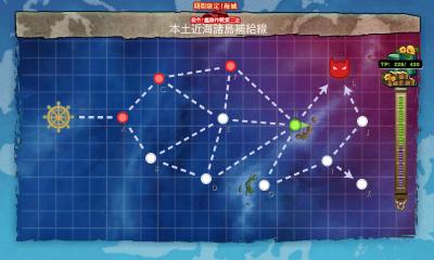 E1本土近海諸島補給線