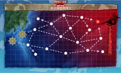 E3本土沖太平洋上マップ
