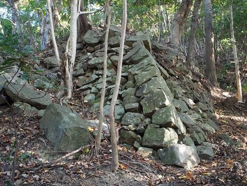西登り石垣2