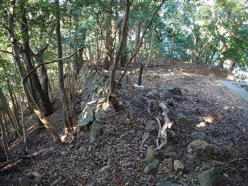 西登り石垣3