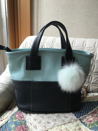 ツートンのバッグ