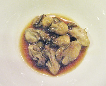 牡蠣の甘辛煮です