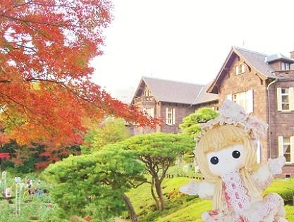 旧古河庭園の紅葉です