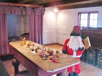 サンタさんの部屋
