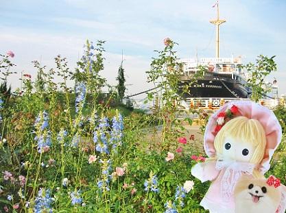 横浜にも行きました