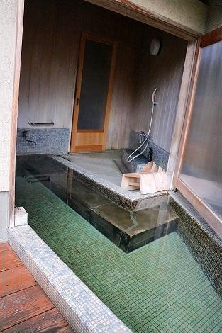 露天風呂付~♪