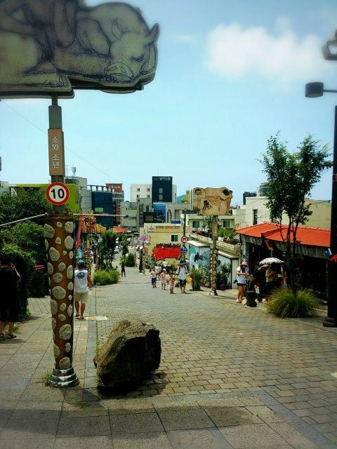 韓国 済州島の 町並み