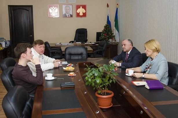 Встреча с Алиевым (6)あ