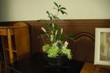 先週のお花で