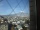 ホテルの窓からの富士山
