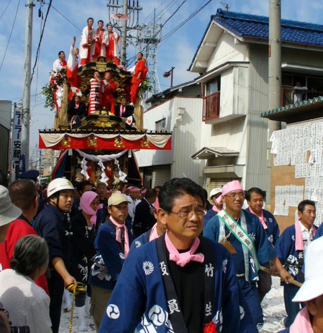 6竹生町の山車2
