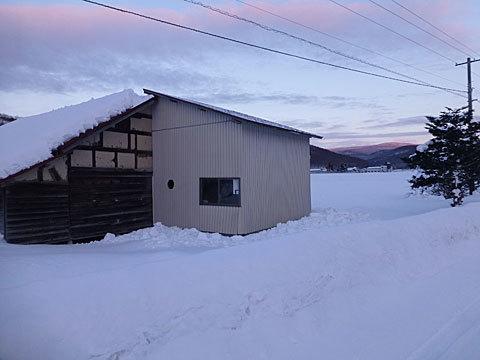 17 1/13 屋根 雪下ろし