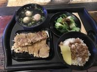 魯肉飯&排骨&青菜&総合湯セット161228