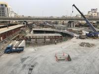 高雄駅地下化工事が進んでます170112