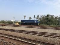 台鐵カラーのディーゼル機関車170113