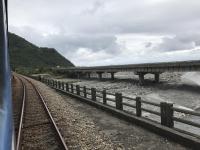瀧溪駅到着170113