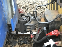 機関車と客車連結部170113