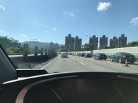 北宜高速はHOV規制中170128