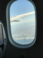 東京湾上を上昇中170125