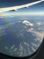 機上から富士山①170125