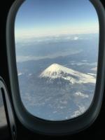 機上から富士山②170125