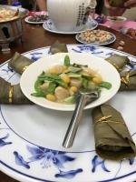 貝柱うま煮と肉粽170207