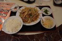 レバニラ炒め定食170121