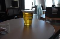 スカイツリー展望台で生ビール170121