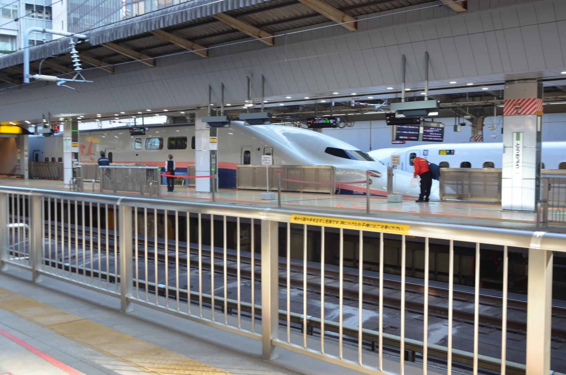 喫煙 新幹線 所 東京 駅 ホーム
