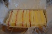 ハムチーズサンド170122