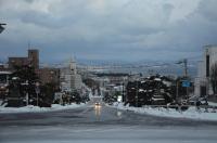 護国神社から函館170122