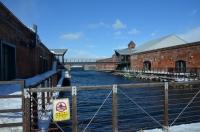赤レンガ倉庫の運河170123