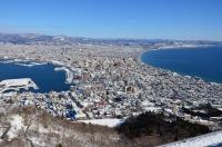 函館山からの景色170124