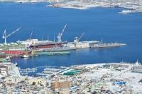 函館ドックと護衛艦170124