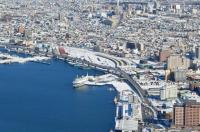 函館駅と連絡船170124