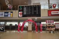 函館空港ロビー170124
