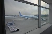 先ほど着陸したANA機170124