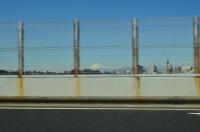 首都高から富士山170125
