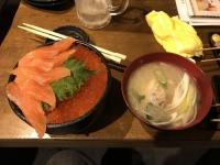鮭親子丼170122