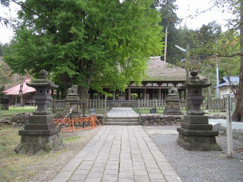 熊野神社長床5