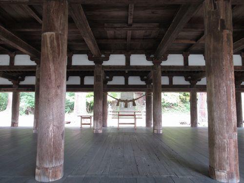 熊野神社長床10