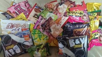 お菓子これで1000円分