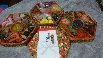 今年も坂東太郎のお節料理